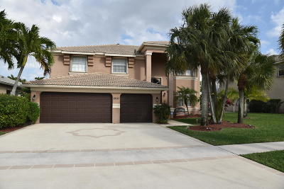 Royal Palm Beach Single Family Home For Sale: 2237 Ridgewood Circle