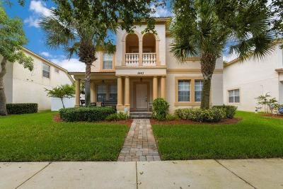 Palm Beach Gardens Single Family Home For Sale: 8443 Alister Boulevard
