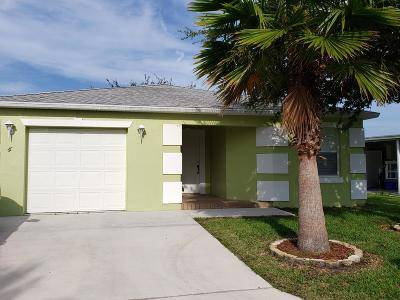 Port Saint Lucie Single Family Home For Sale: 4 Juarez Lane