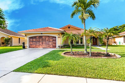 Boynton Beach Single Family Home For Sale: 5430 Jason Court