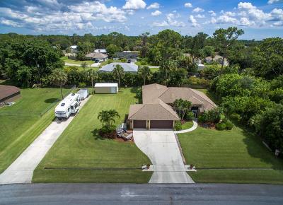 Port Saint Lucie Single Family Home For Sale: 2038 SW Harrison Avenue