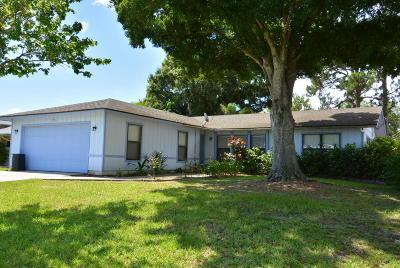 Port Saint Lucie Single Family Home For Sale: 2756 SE Howell Avenue