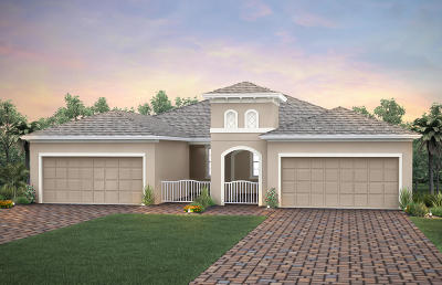 Port Saint Lucie Single Family Home For Sale: 12803 SW Gingerline Drive