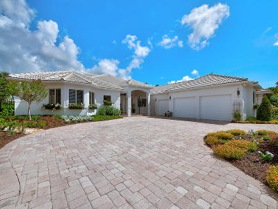 Palm Beach Gardens Single Family Home For Sale: 64 Saint James Drive