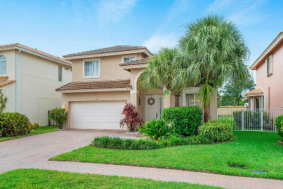 Royal Palm Beach Single Family Home For Sale: 155 Bellezza Terrace