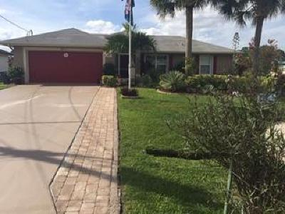 Port Saint Lucie Single Family Home For Sale: 6011 NW Winfield Drive