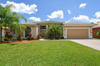 Port Saint Lucie Single Family Home For Sale: 300 SW Egret Landing(S)