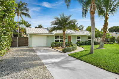 Boynton Beach Single Family Home For Sale: 3931 Coelebs Avenue