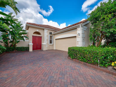 Palm Beach Gardens Single Family Home For Sale: 219 Coral Cay Terrace