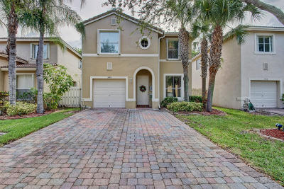 West Palm Beach Single Family Home For Sale: 3978 Lake Tahoe Circle