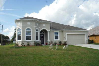 Port Saint Lucie Single Family Home For Sale: 2356 SW Kent Circle