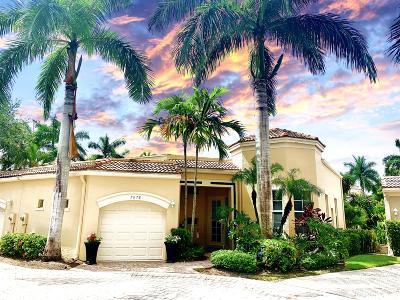 West Palm Beach Single Family Home For Sale: 7678 Jasmine Court