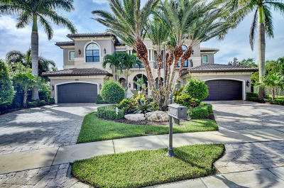 Delray Beach Single Family Home For Sale: 16876 Crown Bridge Drive