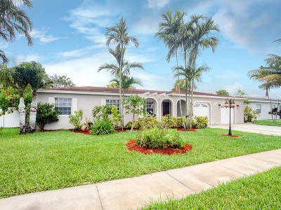 Boca Raton Single Family Home For Sale: 10941 Granite Street