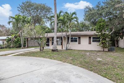 Palm Beach Gardens Single Family Home For Sale: 11439 Kidd Lane