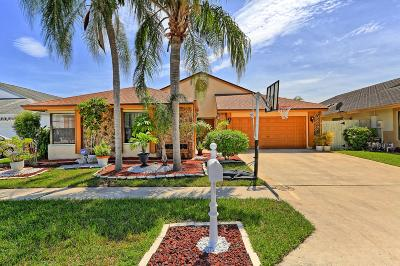 Boca Raton Single Family Home For Sale: 21041 Woodspring Avenue