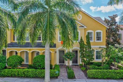 Jupiter Townhouse For Sale: 111 Mulligan Place