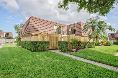 Palm Beach Gardens Townhouse For Sale: 1612 16th Lane