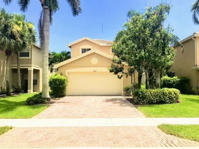 Boynton Beach Single Family Home For Sale: 10167 White Water Lily Way