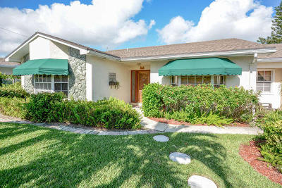 Juno Beach Single Family Home For Sale: 511 Sunset Way