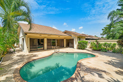 Jupiter Single Family Home For Sale: 113 Sand Pine Drive