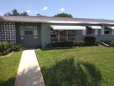Delray Beach Single Family Home For Sale: 832 High Point Drive W #B