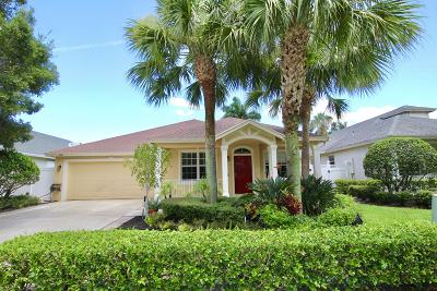Jupiter Single Family Home For Sale: 241 Clocktower Drive
