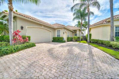 Eagles Landing Of P B Polo And Country Club Single Family Home For Sale: 2594 Players Court