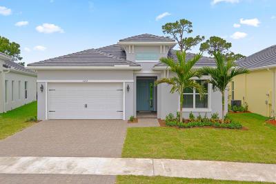 Stuart Single Family Home For Sale: 4591 SW Ardsley Drive