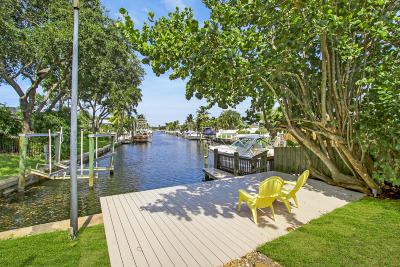 North Palm Beach Single Family Home For Sale: 614 Westwind Drive