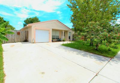 Royal Palm Beach Single Family Home Contingent: 10089 Mikado Lane