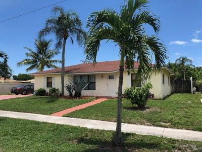 Lantana Single Family Home Contingent: 406 S 13th Place