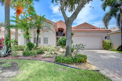 Boynton Beach Single Family Home For Sale: 7318 Wailea Avenue