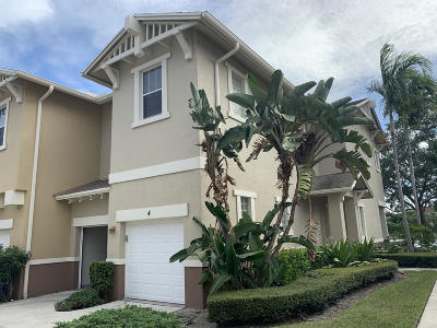 West Palm Beach Townhouse For Sale: 855 Marina Del Ray Lane #4