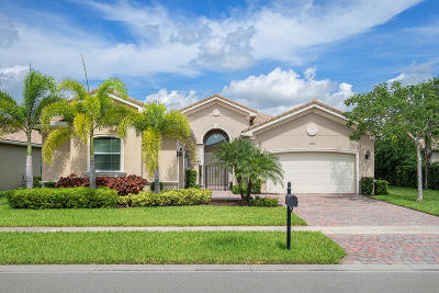 Boynton Beach Single Family Home For Sale: 12265 Glacier Bay Drive