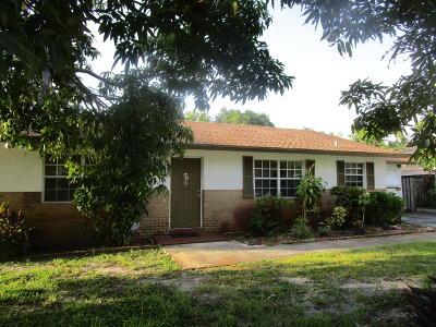 Boynton Beach Single Family Home For Sale: 325 SW 6th Avenue