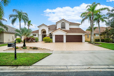Boca Raton Single Family Home For Sale: 21347 Gosier Way