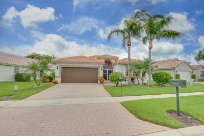 Boynton Beach Single Family Home For Sale: 7266 Haviland Circle