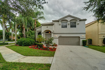 Lake Worth Single Family Home For Sale: 6562 Stonehurst Circle