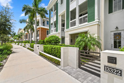 Palm Beach Gardens Townhouse For Sale: 13322 Alton Road