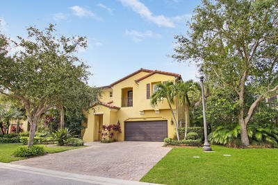 Palm Beach Gardens Single Family Home For Sale: 1032 Vintner Boulevard