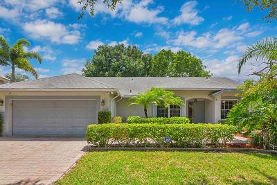 Coconut Creek Single Family Home For Sale: 5874 NW 41st Way