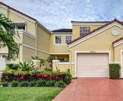 Boca Raton Townhouse For Sale: 17082 Boca Club Boulevard #2