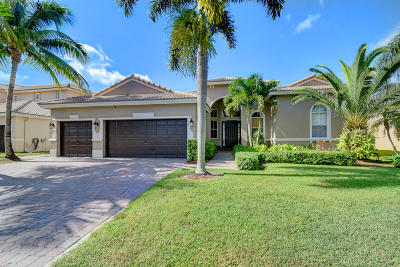 Lake Worth Single Family Home For Sale: 10551 Cypress Lakes Preserve Drive