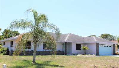 Fort Pierce Single Family Home For Sale: 5208 Eagle Drive