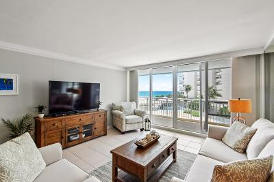 Palm Beach Condo For Sale: 3546 S Ocean Boulevard #409