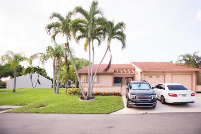 Boynton Beach Single Family Home For Sale: 30 Walcott Drive