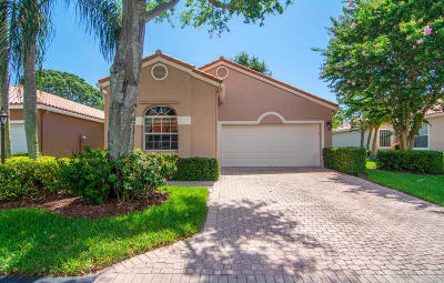 Boca Raton Single Family Home For Sale: 17352 Antigua Point Way
