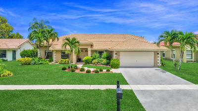 Boca Raton Single Family Home For Sale: 11731 Island Lakes Lane