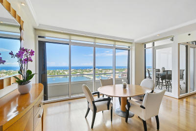 West Palm Beach Condo For Sale: 529 S Flagler Drive #Ph 3f